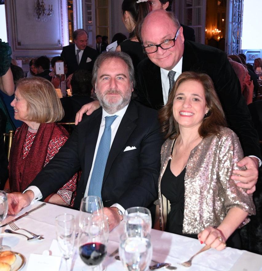 Martín Cabrales y Tato Lanusse en la Gala Anual a beneficio de Fundación Zaldivar