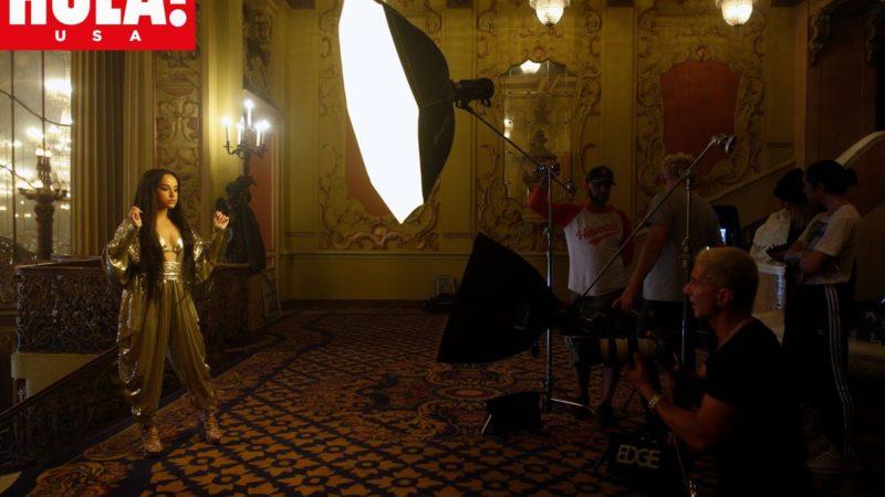 #HOLAUSA Becky G en una Exclusiva mundial en HOLA! USA