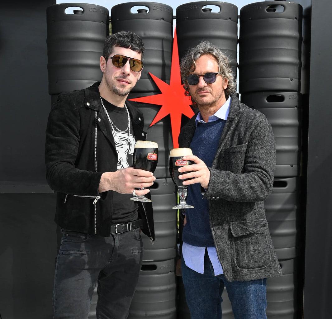 Esteban Lamothe y Pablo Massey en la Feria Masticar