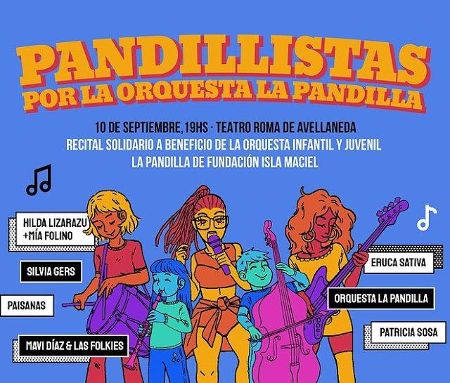 Festival a beneficio de la orquesta Infanto-Juvenil de la Fundación Isla Maciel