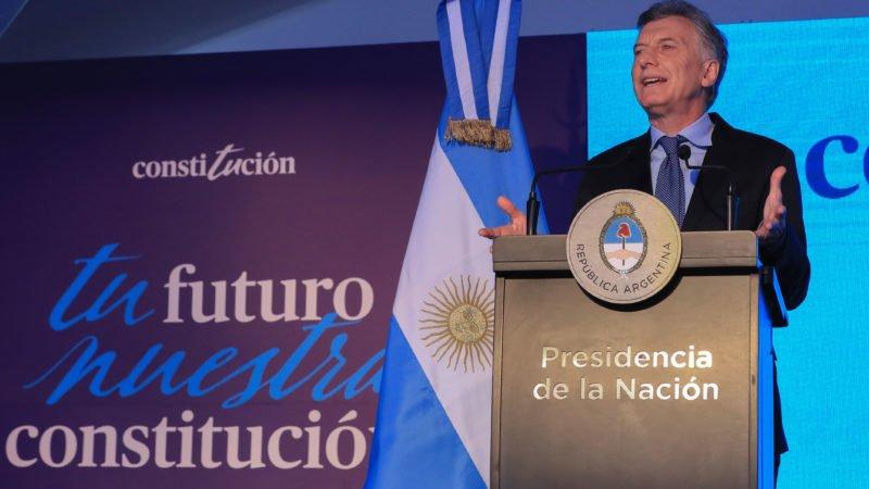 Macri: «La posibilidad de seguir transformando para siempre a la Argentina está en nuestras manos»