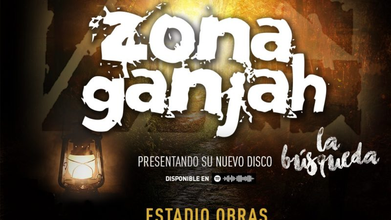 Zona Ganjah presentará su nuevo disco «La Búsqueda» en el Estadio Obras