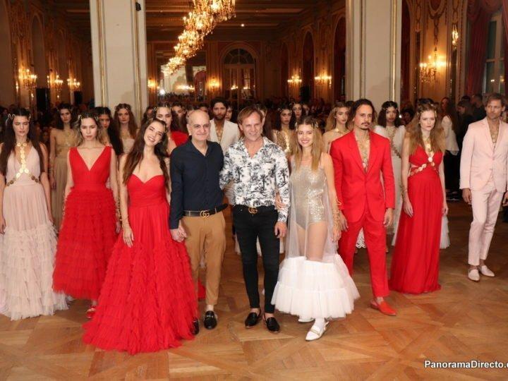 Laurencio Adot presentó su colección DOT Ballet en el Alvear Palce Hotel