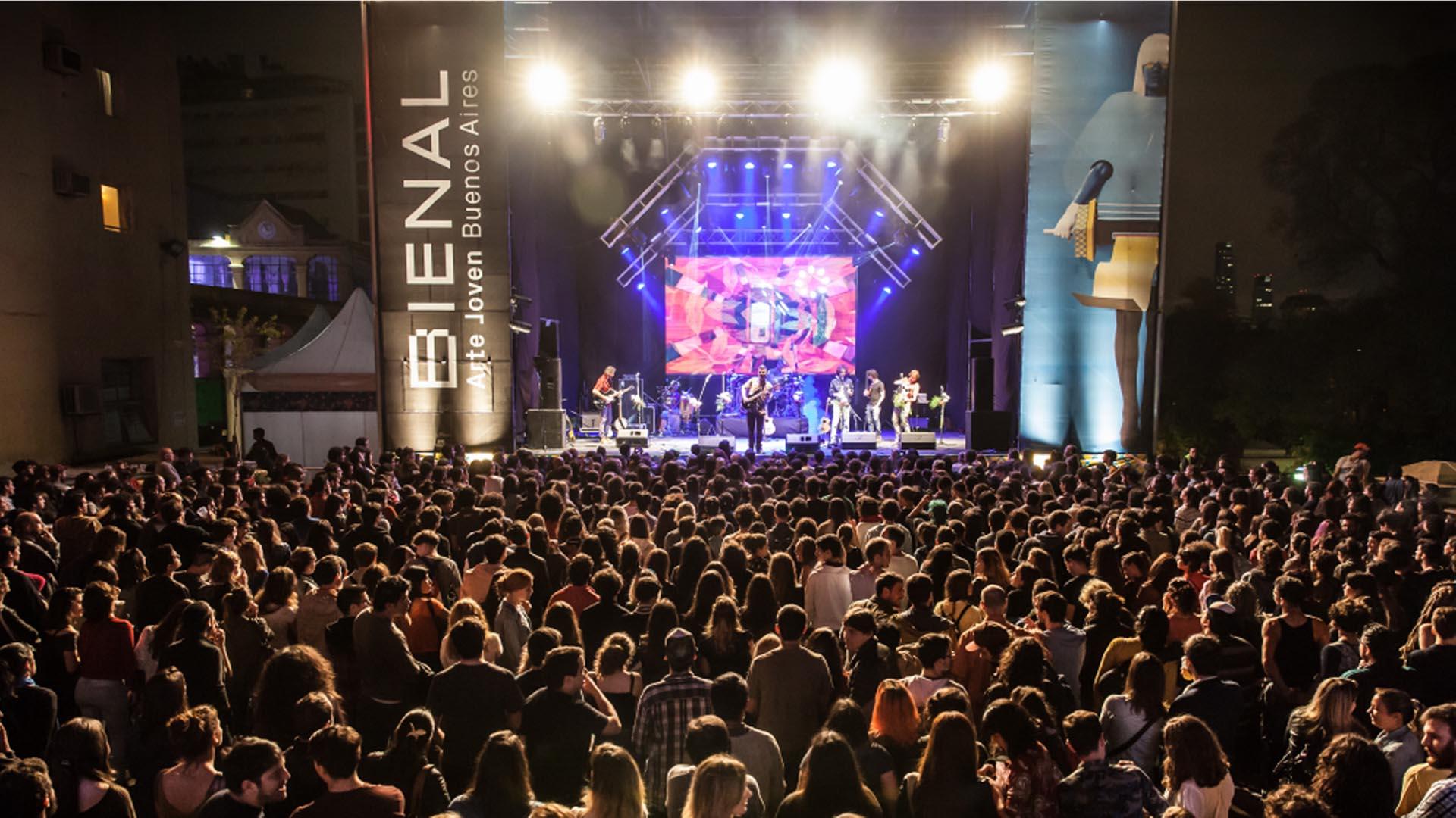 Las bandas La Delio Valdez, Telescopios y Lo' Pibitos se suman a la inauguración de la Bienal Joven
