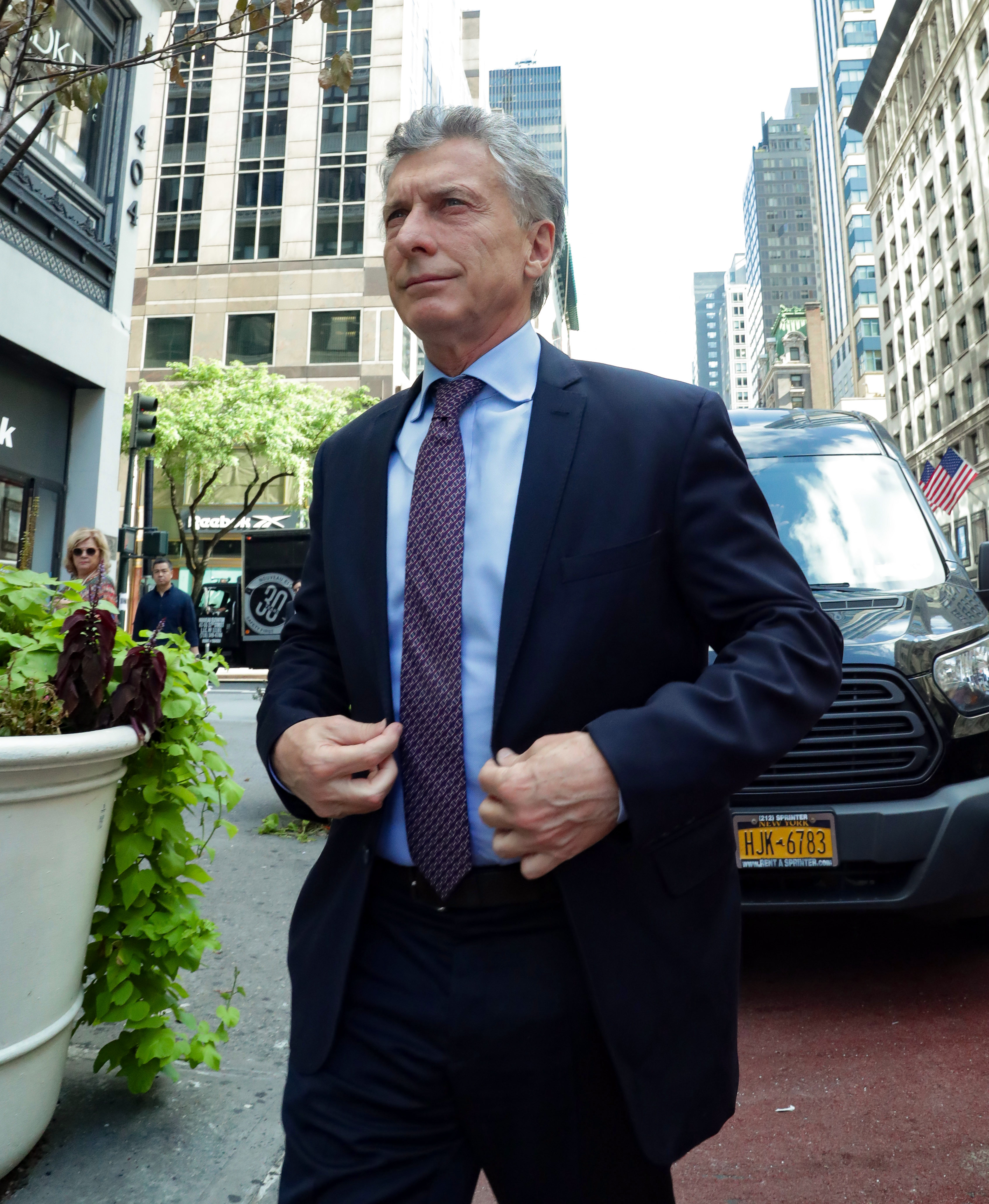 Macri llegó a Nueva York para participar hoy de la Asamblea General de la ONU