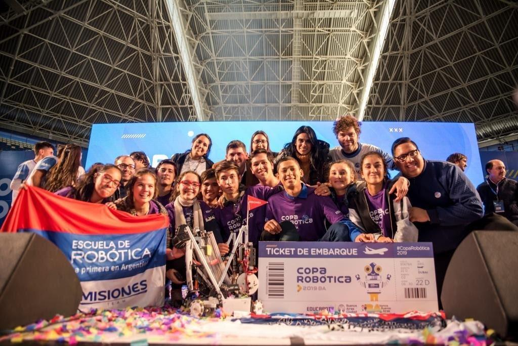 El equipo de Misiones es el ganador de la Copa Robótica