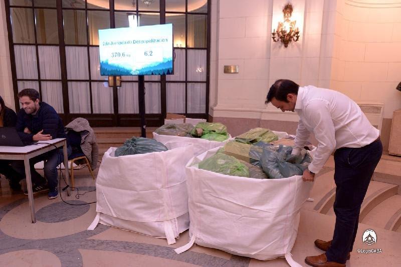 Jornada de Despapelización en la Legislatura Porteña