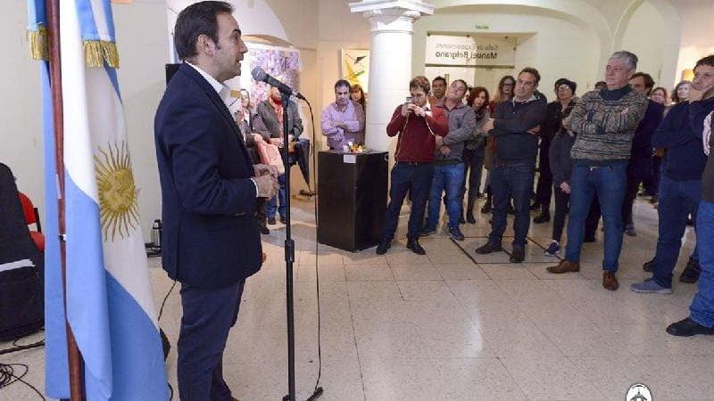 "Francisco Quintana inaugura la tercera exposición ""Artes Visuales de Trabajadores Legislatura  CABA"""