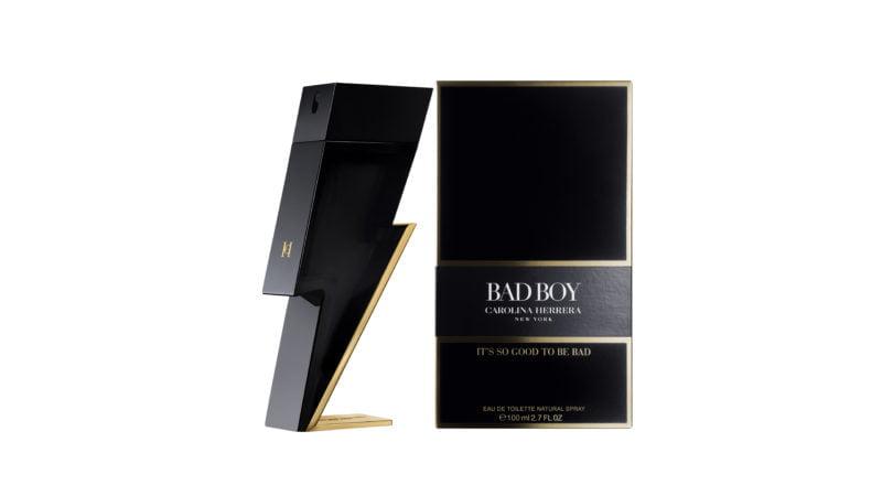 Carolina Herrera presenta Eau de Toilette Bad Boy, un nuevo perfume masculino, innovador y explosivo