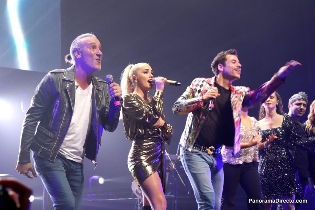 Lali Espósito, Karina la Princesita y Fernando Dente brillaron en un show a beneficio de Fundación Huésped en el Teatro Opera Orbis Seguros