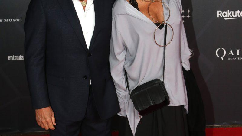 Ricardo Montaner y Marlene Rodríguez en el Parc del Fòrum de Barcelona