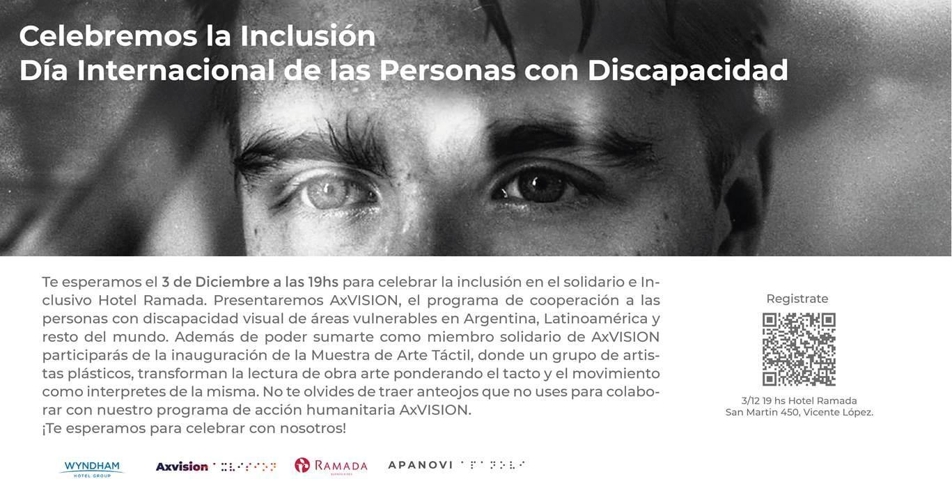 Se realizará la Muestra Arte Táctil en el Día Internacional de las personas con discapacidad