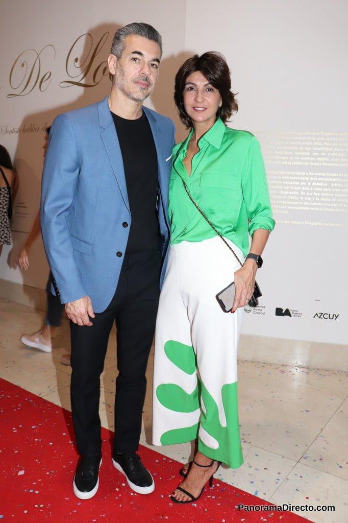 Evangelina Bomparola y Juan Pons en el Museo de Arte Moderno de Buenos Aires