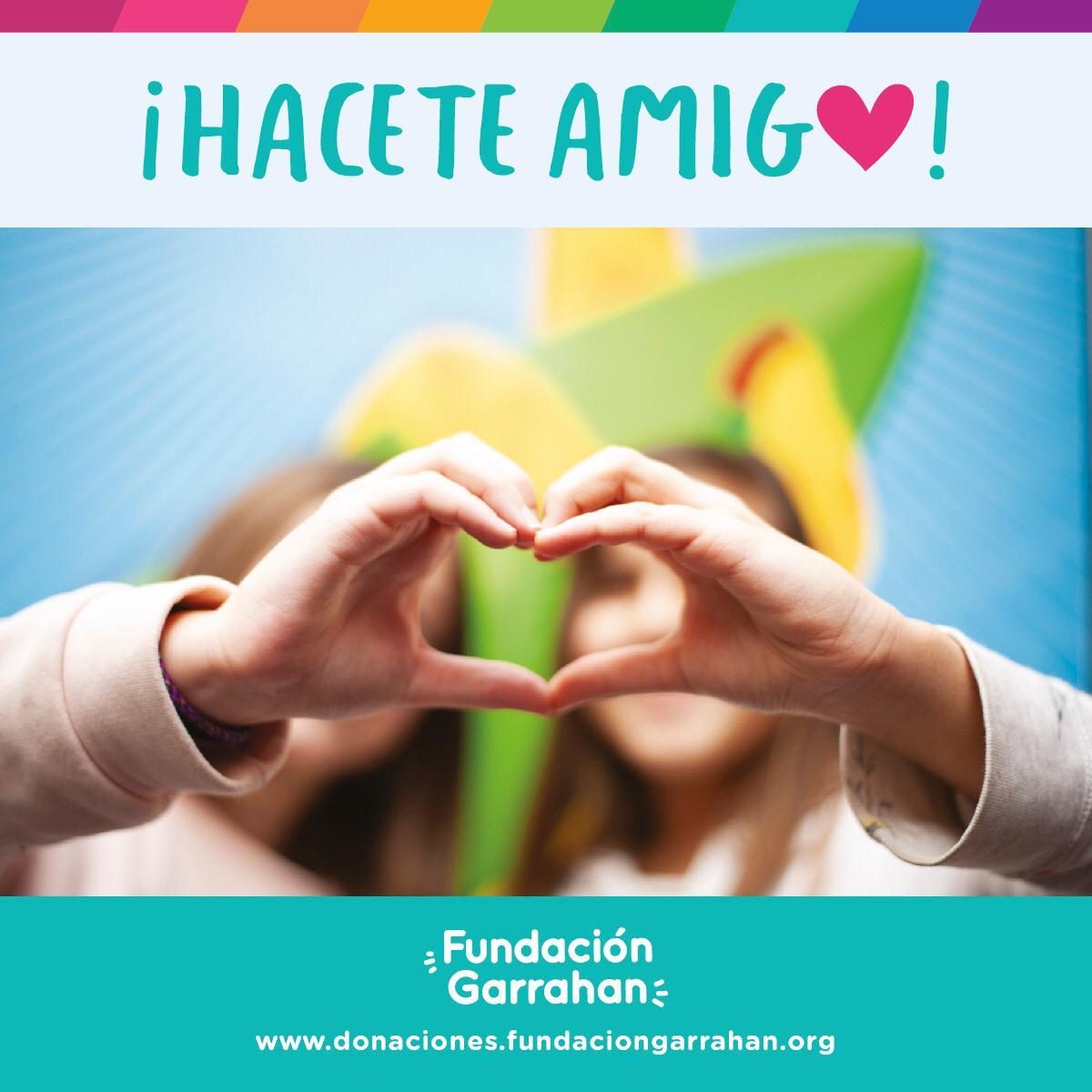 """Fundación Garrahan lanza """"Hacete Amigo"""", una campaña orientada a recaudar fondos a través de pequeñas donaciones"""