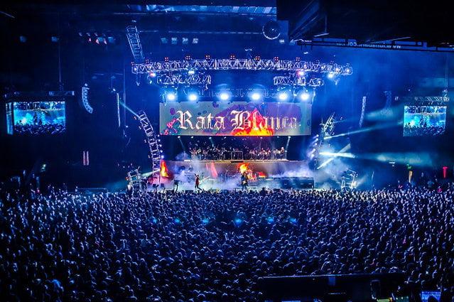 Rata Blanca en el Luna Park con Orquesta
