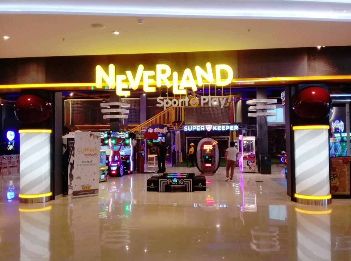 Neverland apuesta al entretenimiento deportivo