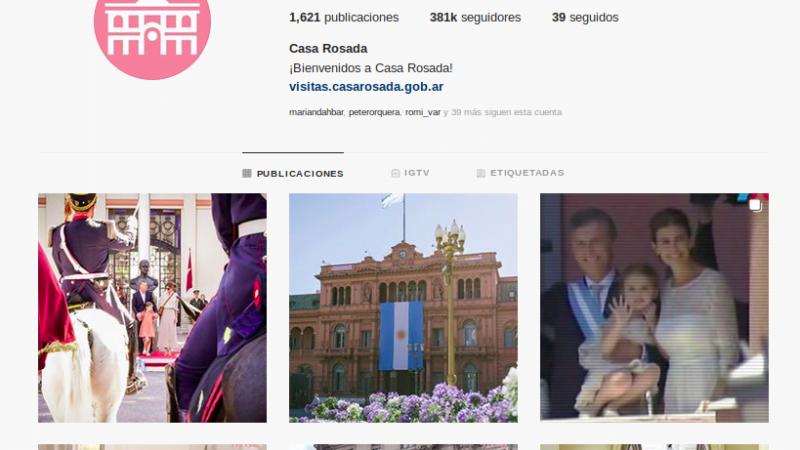 El Gobierno traspasará sin condiciones las cuentas oficiales de las redes sociales a la nueva gestión