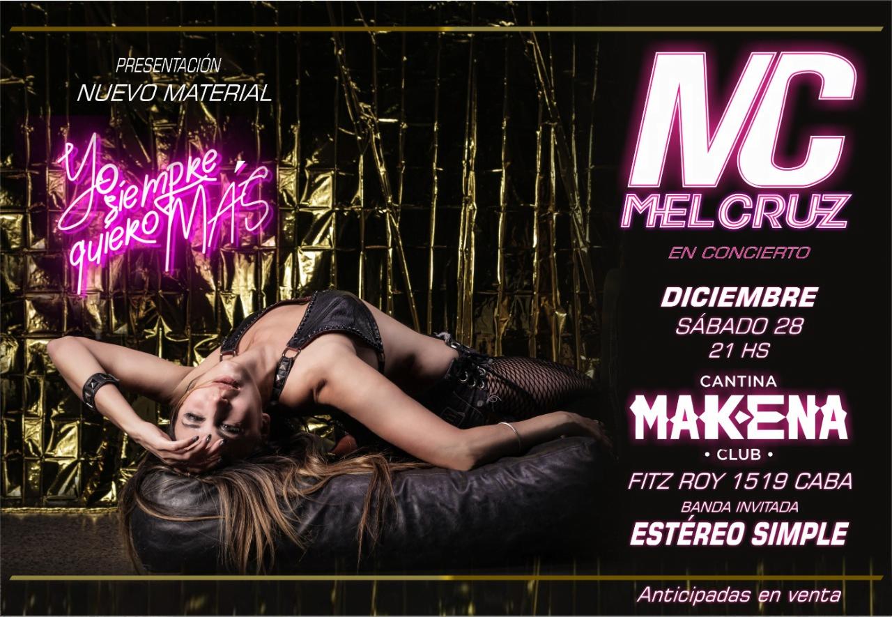 """#Entrevista Mel Cruz presenta su nuevo material """"Yo siempre quiero mas"""""""