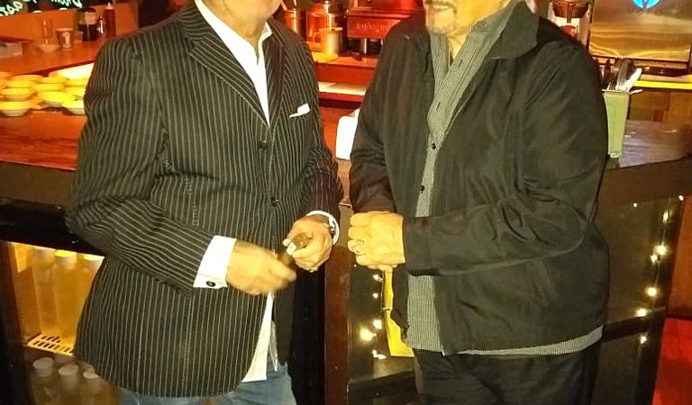 Arturo Cea y Raúl Ferraretto en Café Prima Pasta