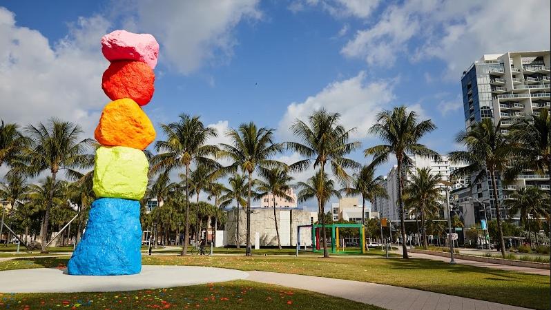"""Inauguró la muestra argentina """"Disrupciones"""" en la Semana del arte de Miami"""