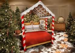 Booking.com lanza Candy Cane House, ¡la estadía más dulce de todas!