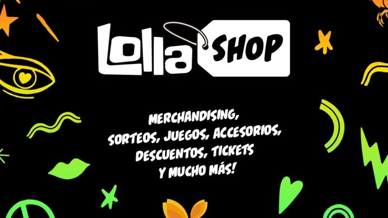 Lollapalooza Argentina  abre su primer Pop Up Store en DOT Baires Shopping