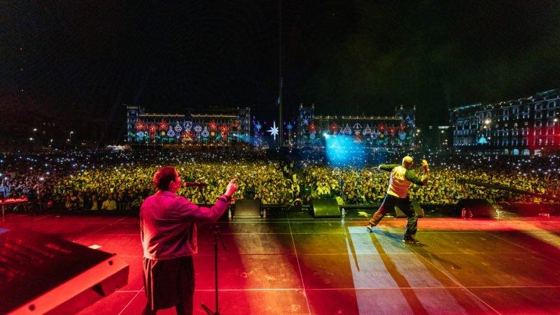 Histórico show de Residente en México