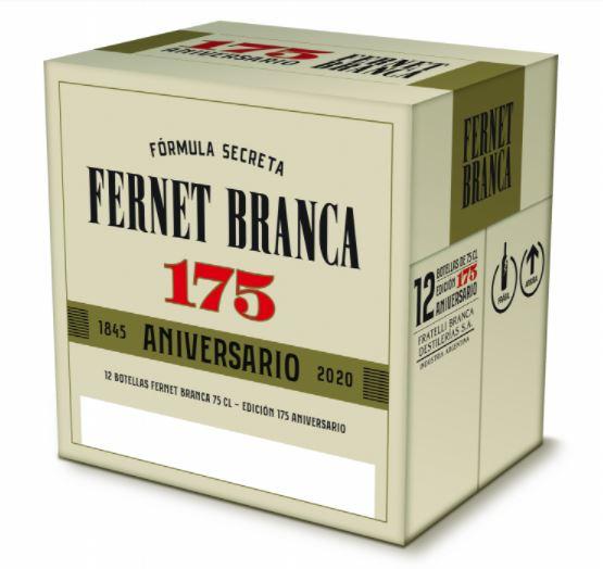 Continúan las celebraciones: Fratelli Branca lanza otro Edición Única en el marco del festejo por su 175° aniversario y será una etiqueta conmemorativa