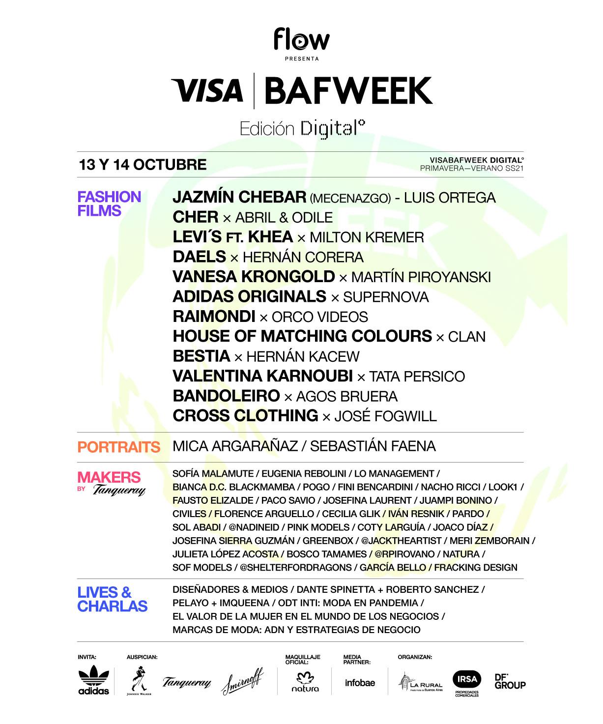 FLOW presenta VISA BAFWEEK 2020: Edición virtual: moda más allá de las temporadas y las fronteras