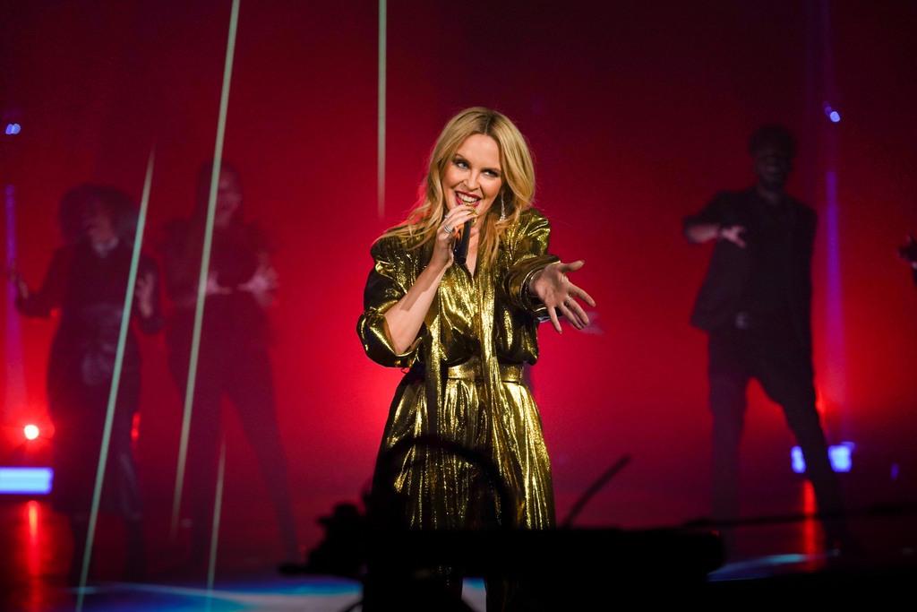 La diva de la canción pop Kylie Minogue presenta «Disco»